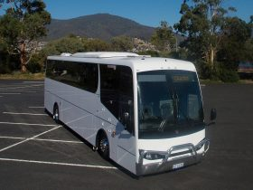 48 seat Mercedes-Benz Coach Concepts luxury rated touring coach