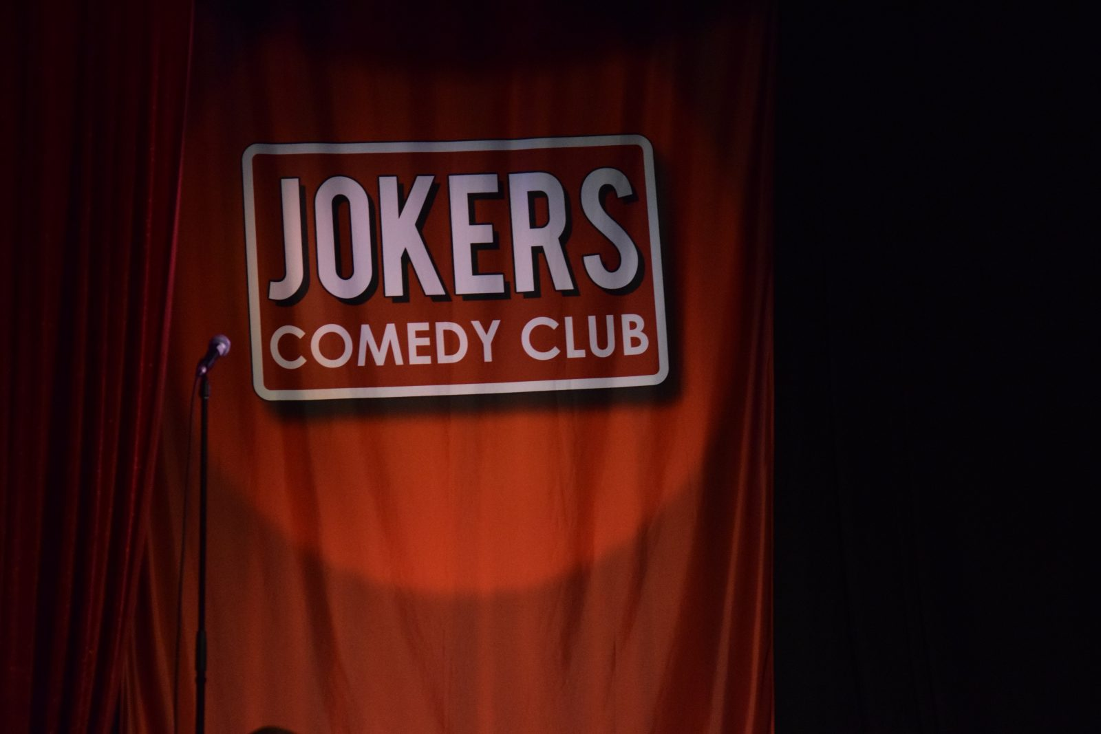 Jokers Comedy Club stage