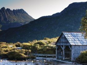Boat Shed, Lake Dove and Cradle Mountain