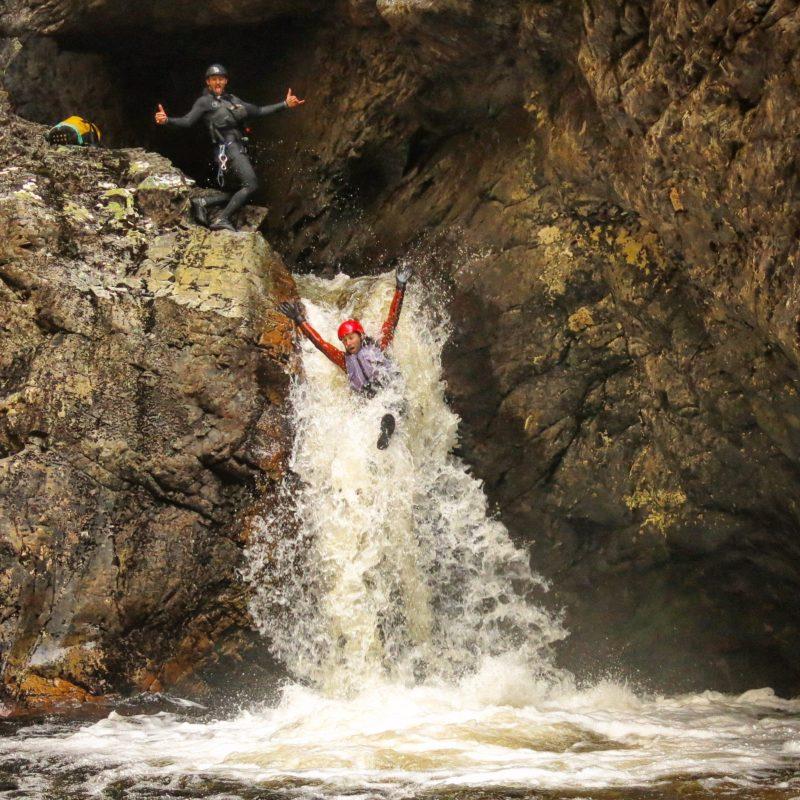 Waterfall, Canyoning, Canyon, Cradle Mountain, Tasmania