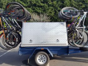 Crank-e Bike Rack & Trailer Hire