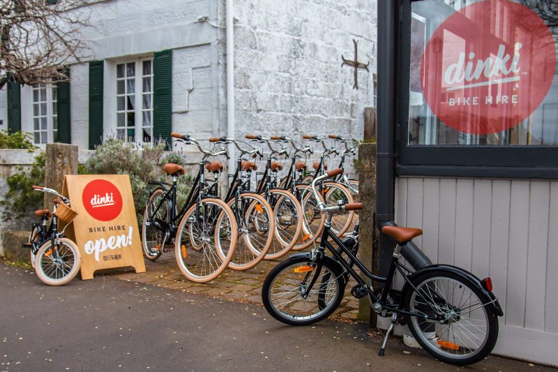 Dinki – Boutique Bicycle and Picnic Hire in Ross, Tasmania