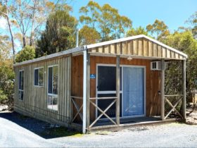 Cabin accommodation at Cradle Mountain park