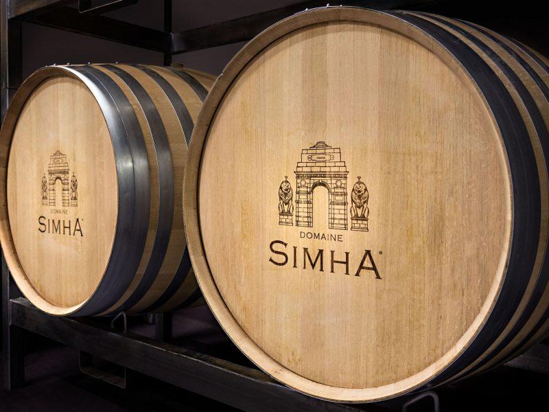 Domaine Simha Tasmania wine barrel demi-muid
