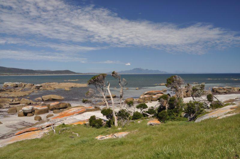 Sawyers Bay west coast Flinders Island Tasmania