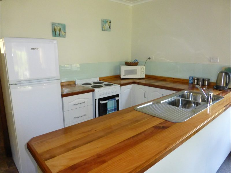 Eagles Rise offers four self contained holiday cottages at beautiful Sisters Beach in NW Tasmania. Casuarina Cottage has 2 bedrooms and accommodates four people.