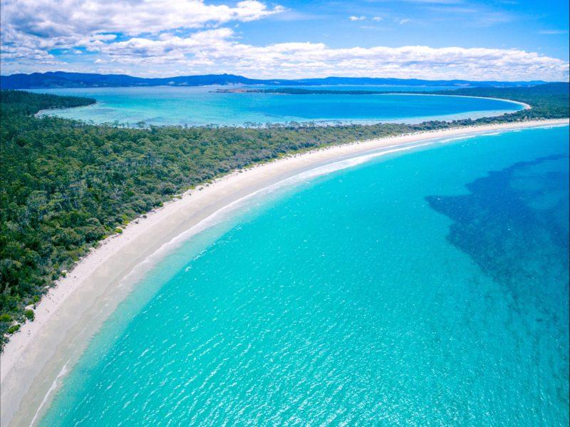 Famous remote beaches