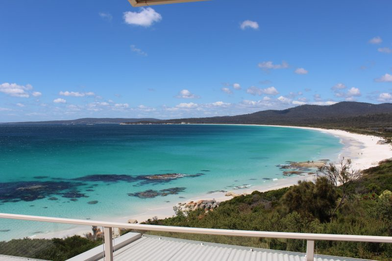 Eleven62 Bay of Fires - Ocean view from balcony
