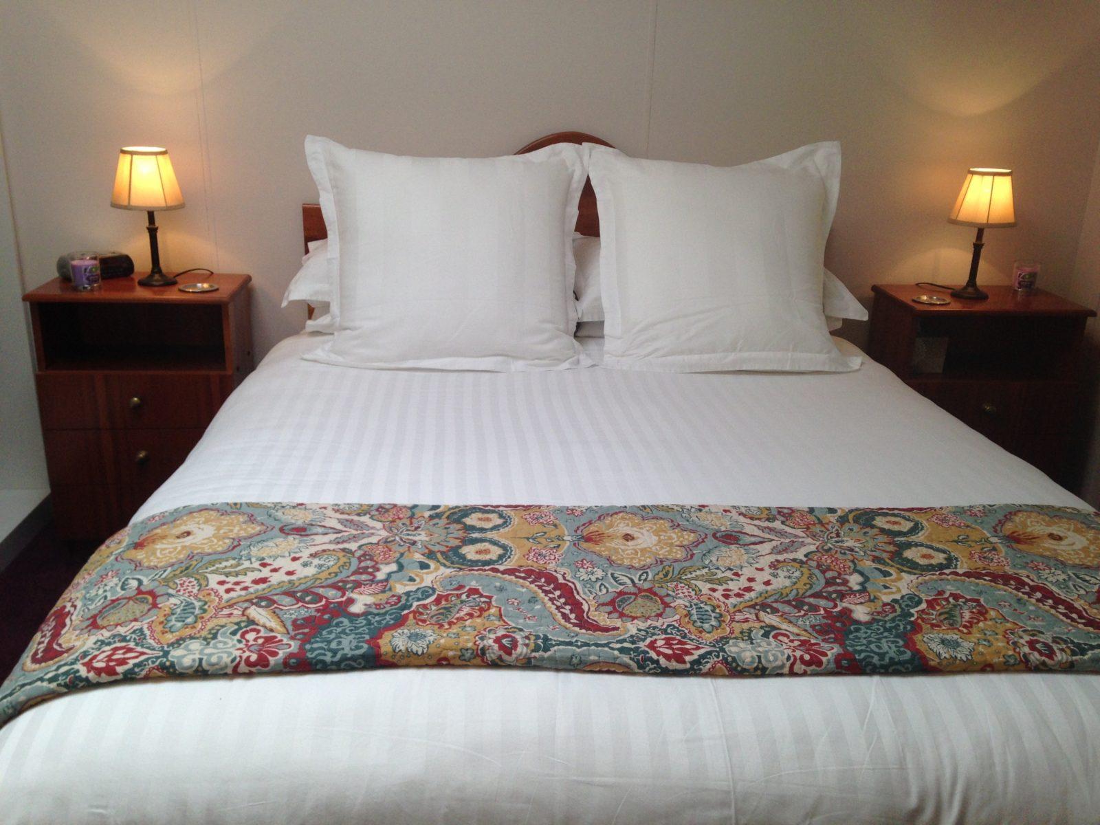 Ellie's Studio queen size pillow top bed