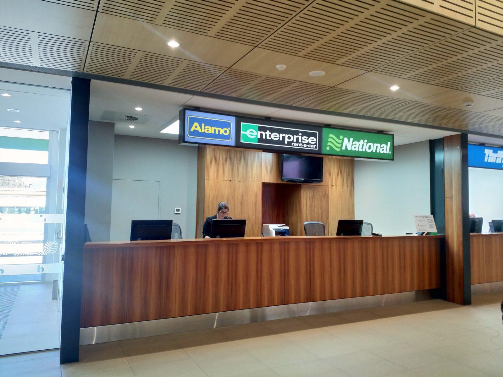 Enterprise Rent a Car Hobart Airport Location Image