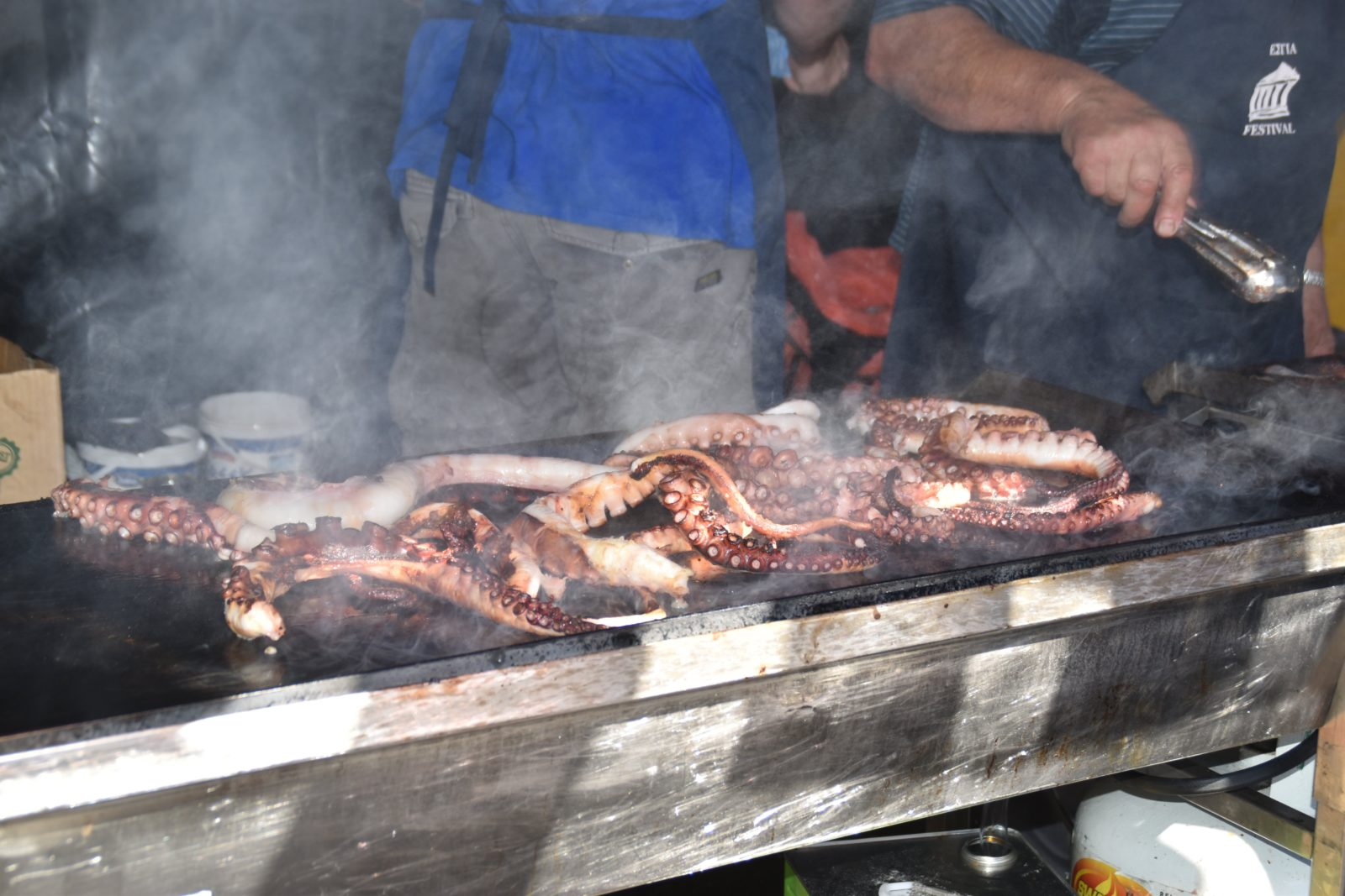 Octopus - Estia Greek Festival