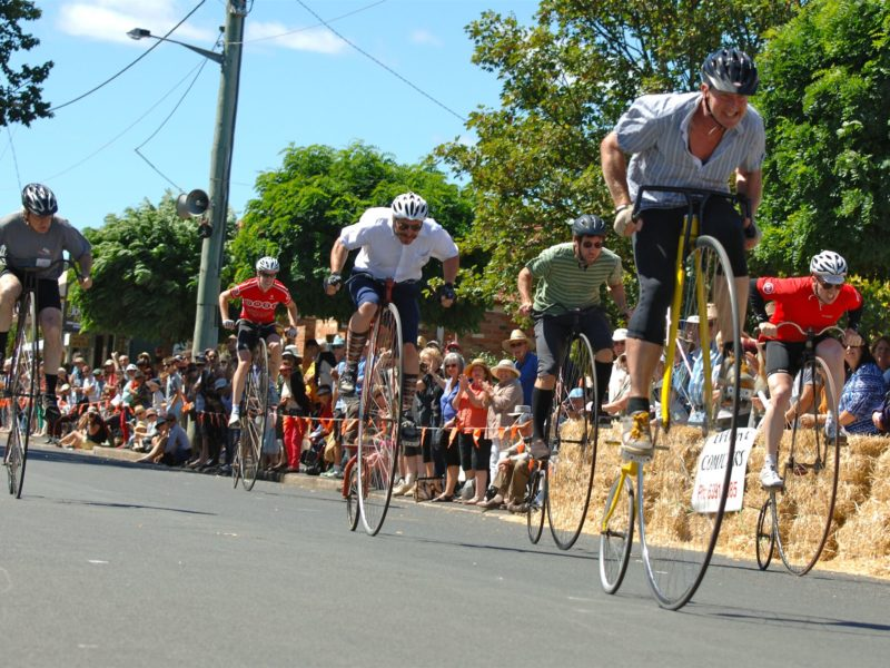 Evandale Village Fair and National Penny Farthing Championships