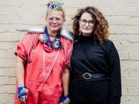 Image: Sisters Akousmatica, Junction Arts Festival, 2019. Photo: Nick Hanson