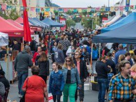 Farm Gate Market - Bathurst Street, Hobart