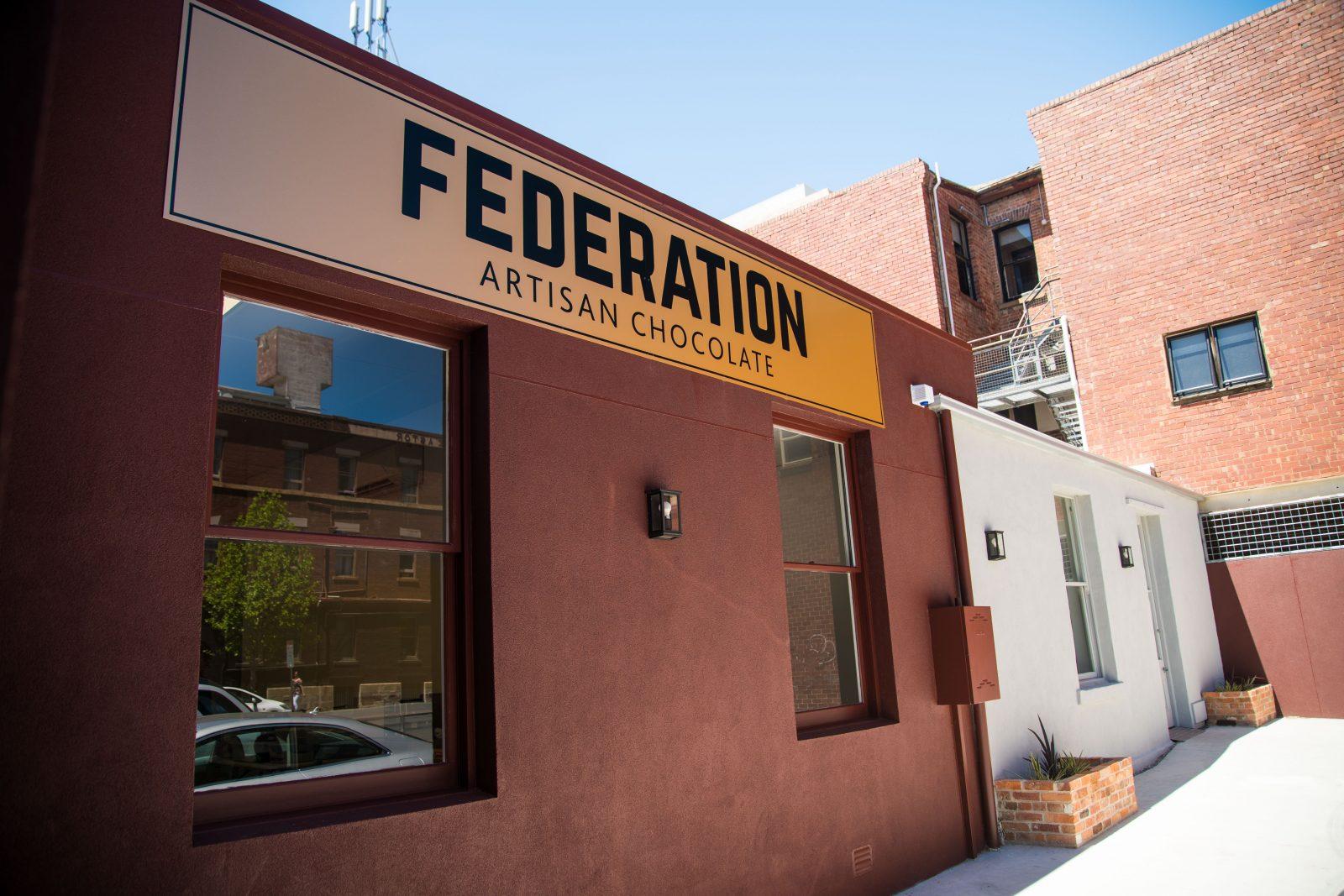 Federation Artisan Chocolate Hobart Shop