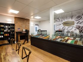 Federation Artisan Chocolate Hobart Shop praline chocolates, bars and chocolate making