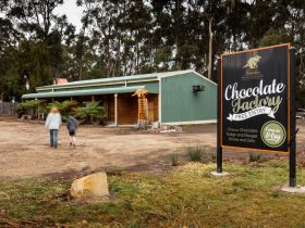 Federation Chocolate is located at Taranna on the Tasman Peninsula on the way to Port Arthur