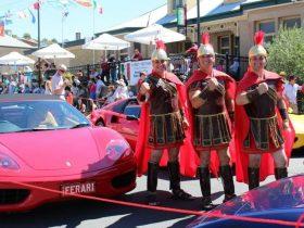 Roman Knights on guard