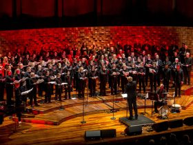 Choir singing Festival of Voices Finale Concert