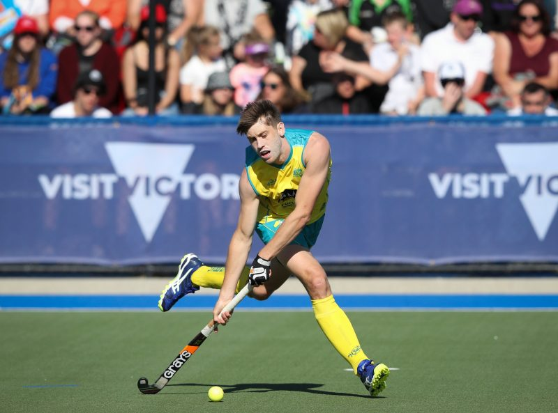 Tasmania's Kookaburra Eddie Ockenden in action for Australia