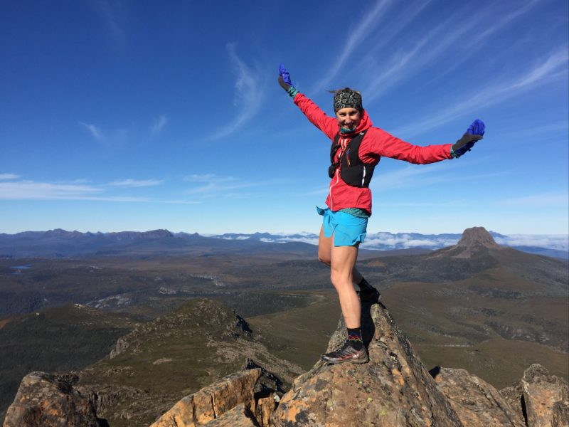 Trail Running Cradle Mountain