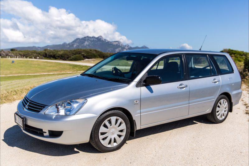 Flinders Island Car Rentals Mitsubishi Lancer Station wagon auto