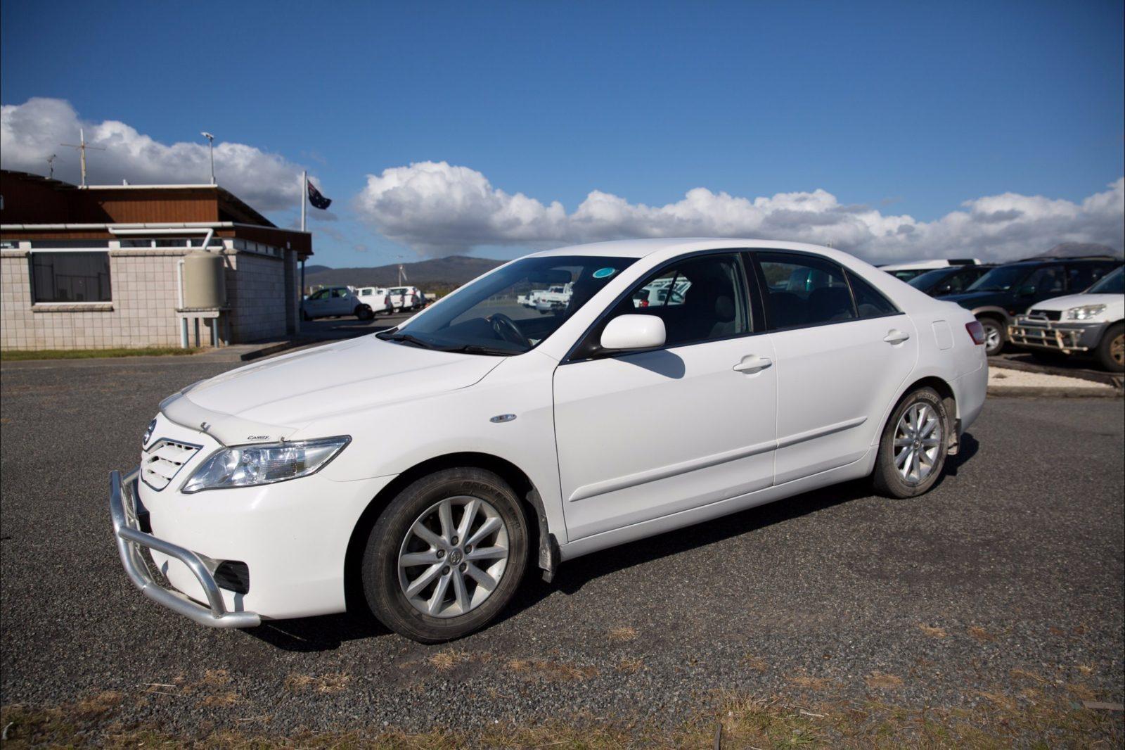 Flinders Island Car Rentals Toyota Camry sedan auto