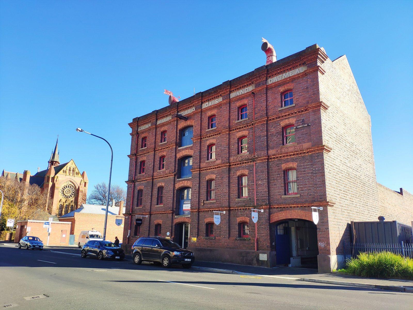 Crown Mill, Flour, Thomas Affleck
