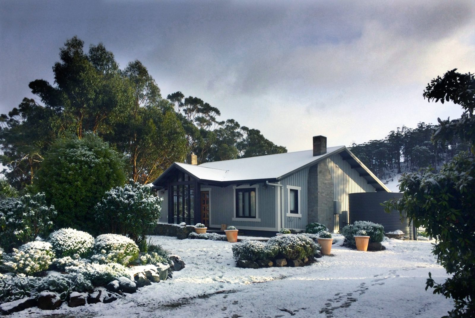 The Writers House, Frenchman's River, Cygnet, Tasmania