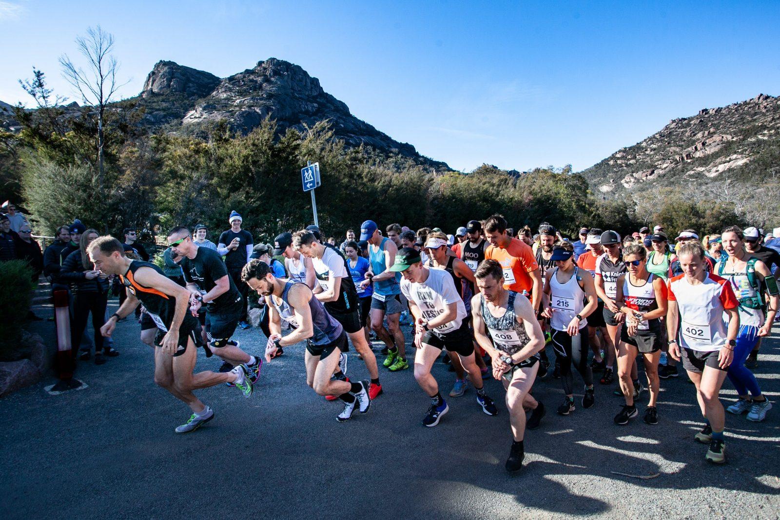 Freycinet Challenge Trail run start day 1