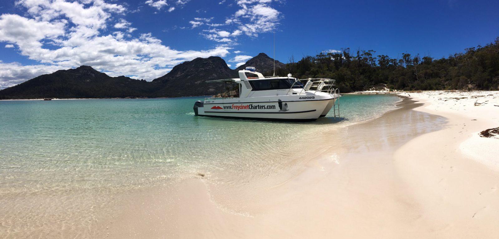 Winglass Bay, Coles Bay, Freycinet Peninsula, The Hazards, Boat Tours,