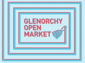 Glenorchy Open Market promotion design