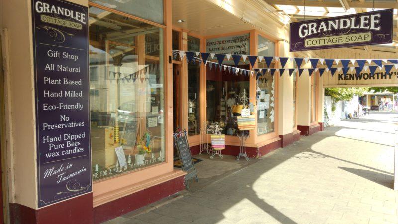 Grandlee Cottage Soap. Shop Front