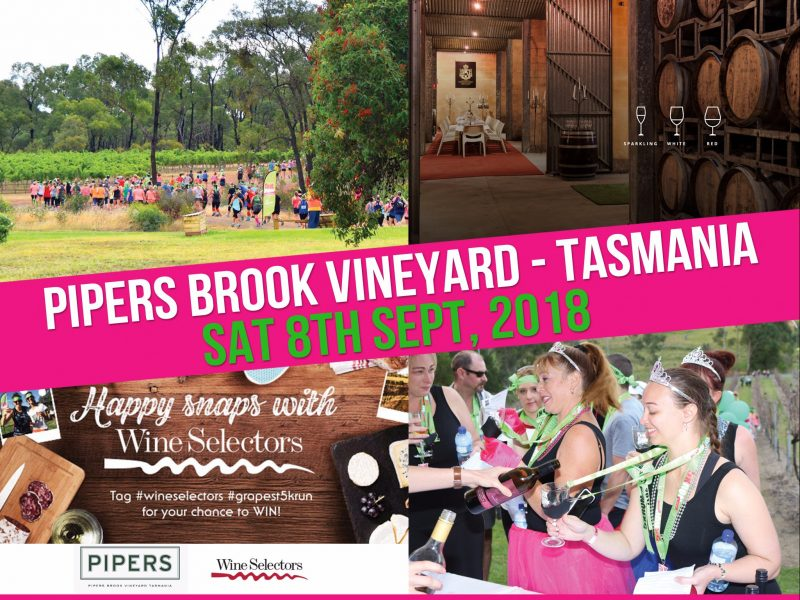 Pipers Brook Vineyard Tasmania - Saturday 8th September 2018