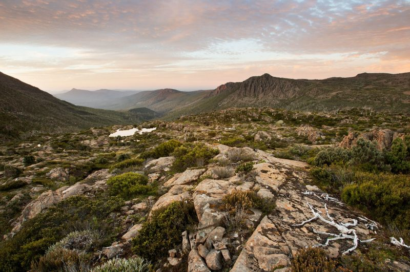 Mt Field National Park, rock, sky, Tasmania