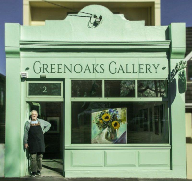 Resident artist Dan Villiers