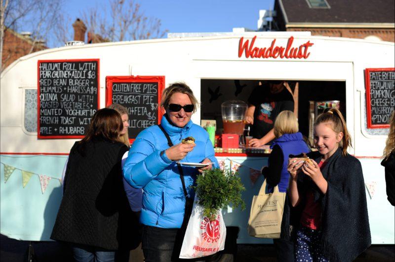 Wanderlust Food Van-Vegetarian and Vegan delights