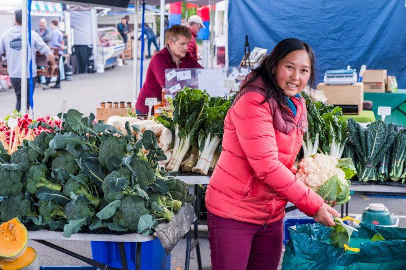 Steve's Veggeis at Harvest Market Launceston