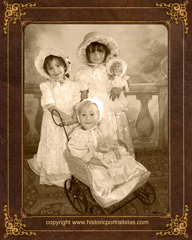 historicportraitstas, old-time portrait, old time photo, family portraits
