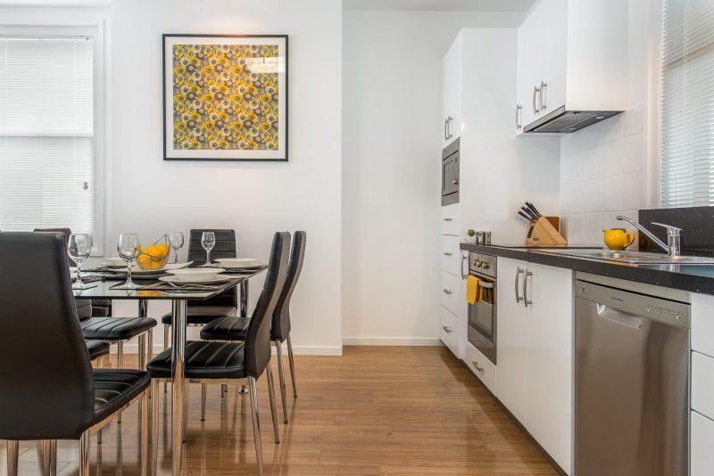 Apartment 1 kitchen dining