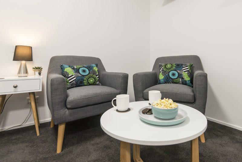 Apt 4 lounge area