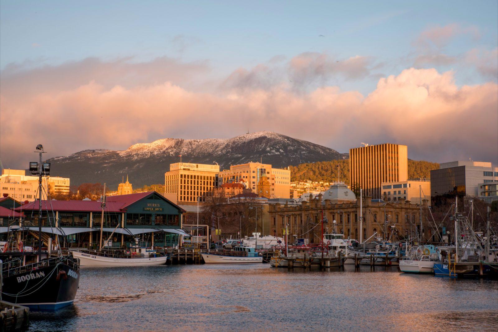 Hobart's iconic Mt Wellington