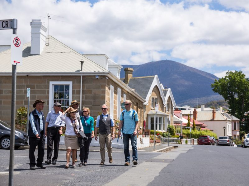 Hobart HIstoric Tours - Grand Hobart Walk