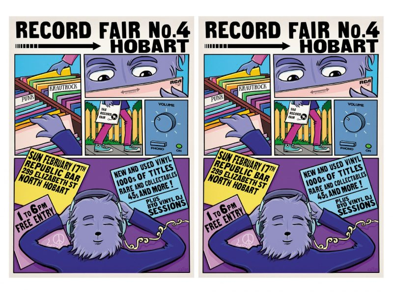 Hobart Record Fair
