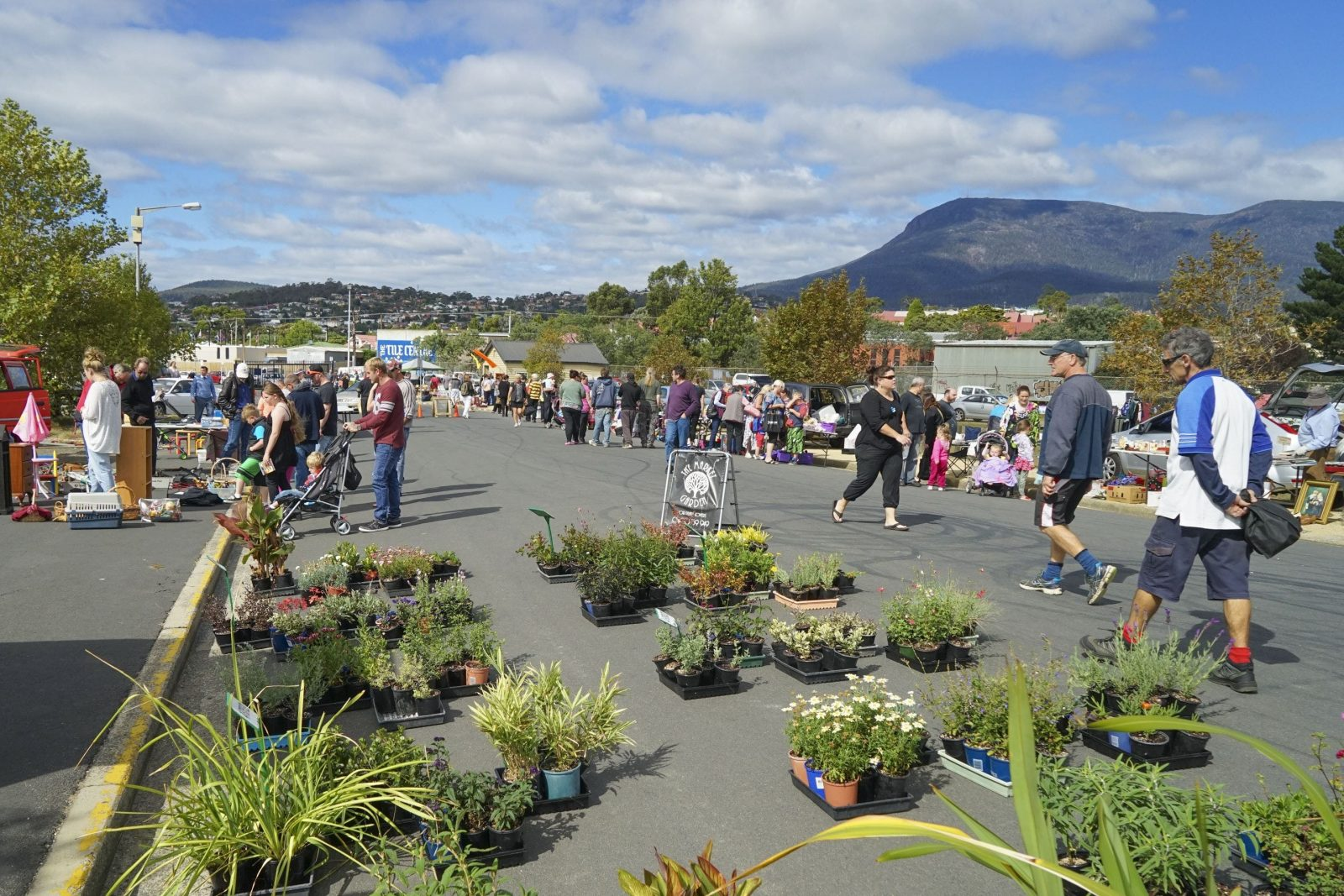 Hobart Showgrounds Sunday Market
