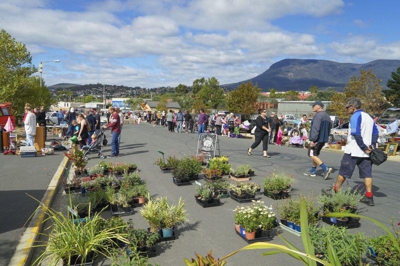 Hobart Showgrounds Sunday Market