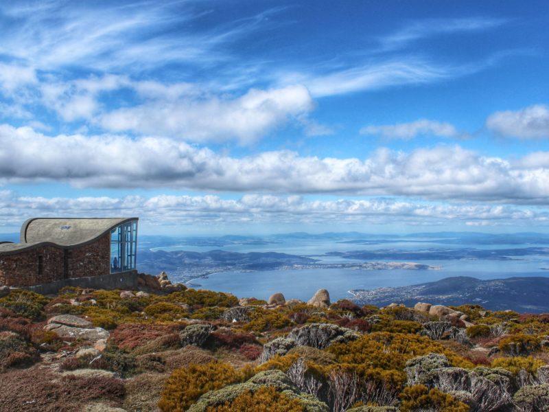 The Top Of Mt Wellington
