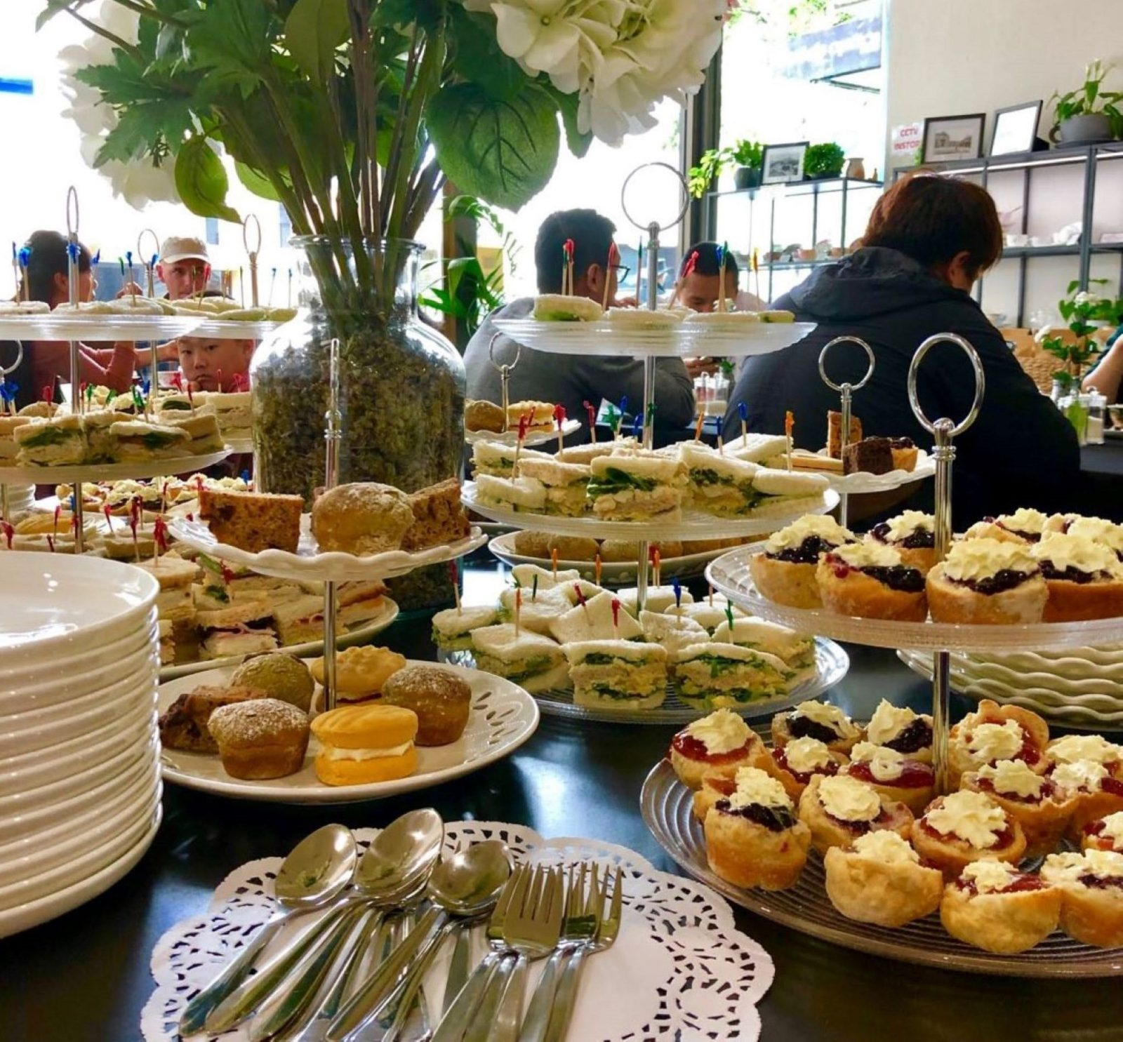 Hobart Town Tearooms is very popular for its Mini Me High Teas. Excellent value-traditional quality
