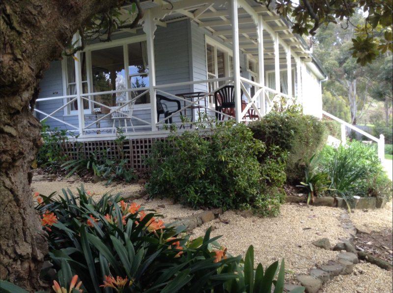 Gardens and verandah