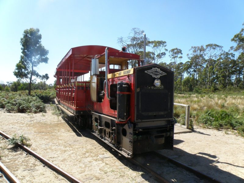 Train at deephole